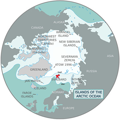 map-of-arctic-islands