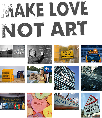 Make Love Not Art - www
